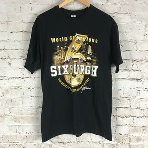 Pittsburgh Steelers Graphic T-Shirt Size Large